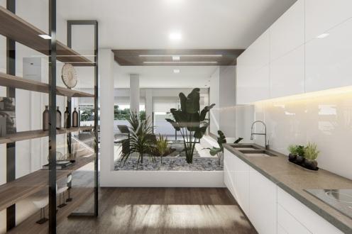 Cocina casa mirador